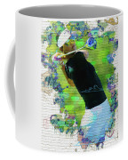 Michelle Wie Street Art Coffee Mug