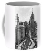 Michigan Avenue In Chicago Coffee Mug