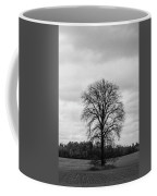 Michigan Lonley Tree  Coffee Mug