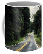 Michigan Rural Roadway In September Coffee Mug