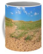 Michigan Sand Dune Landscape In Summer Coffee Mug