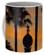 Mickey Mouse Sihouette Coffee Mug