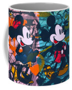 Mickey Mouse Vs. Minnie Mouse Stage On Coffee Mug