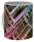 Microprocessors Coffee Mug by Michael W. Davidson