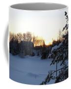 Mid January Winter Sunrise Coffee Mug by Kent Lorentzen