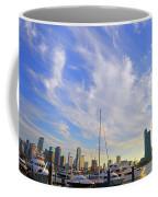 Midday In Miami Coffee Mug
