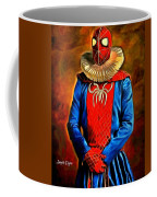 Middle Ages Spider Man Coffee Mug