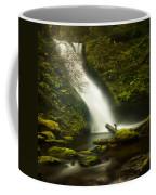 Middle Bridal Veil Falls Coffee Mug