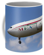 Middle Eastern Airlines Airbus A330 Coffee Mug