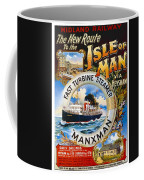 Midland Railway, Steam Boat, Isle Of Man, Poster Coffee Mug