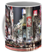 Midnight At Shibuya Coffee Mug