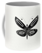 Midnight Butterfly 1- Art By Linda Woods Coffee Mug