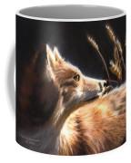 Midnight Fox Coffee Mug