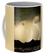Midnight Lightning Storm Coffee Mug by James BO  Insogna