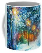Midnight Snow Songs  Coffee Mug