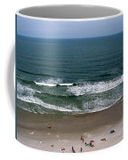 Mighty Ocean Aerial View Coffee Mug
