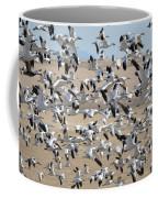 Migrating Snow Geese Coffee Mug