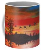 Migration At Summer's End Coffee Mug