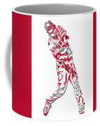 Mike Trout Los Angeles Angels Pixel Art 20 Coffee Mug