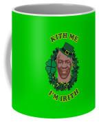 Mike Tyson Funny St. Patrick's Day Design Kith Me I'm Irith Coffee Mug
