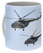Mil Mi-17 Helicopters Of The Czech Air Coffee Mug