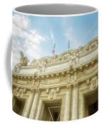 Milan Italy Train Station Facade Coffee Mug