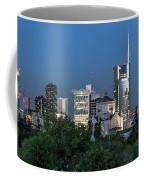 Milan Skyline By Night, Italy Coffee Mug