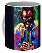 Miles And Yellow Coffee Mug by Debra Hurd