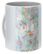 Miles Davis - Watercolor Portrait.4 Coffee Mug