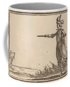 Military Commander On Foot Coffee Mug