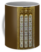 Military Insignia On Stained Glass - Meuse Argonne - East Coffee Mug