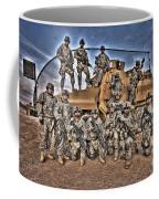 Military Police Pose For This Hdr Image Coffee Mug