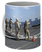Military Policemen Train Coffee Mug by Stocktrek Images