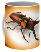 Military Stag Beetle Coffee Mug