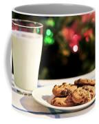 Milk And Cookies For Santa Coffee Mug by Elena Elisseeva