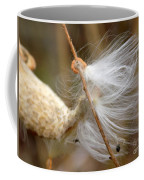 Milkweed Feathers Coffee Mug