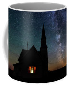 Milky Way And Old Church Coffee Mug