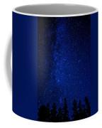 Milky Way And Trees Coffee Mug