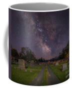 Milky Way Cemetery Coffee Mug