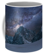 Milky Way On Italian Dolomites Coffee Mug