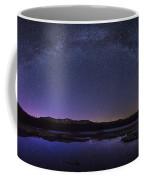 Milky Way Over Lonesome Lake Coffee Mug