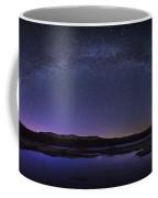 Milky Way Over Lonesome Lake Panorama Coffee Mug