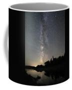 Milky Way Over Schwabacher's Landing Coffee Mug