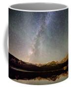 Milky Way Over The Colorado Indian Peaks Coffee Mug