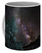 Milkyway At The Mountains Coffee Mug