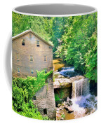 Mill Creek Park Lanterman's Mill And Covered Bridge Coffee Mug
