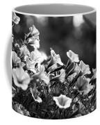 Mill Hill Inn Petunias Black And White Coffee Mug