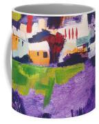 Mill Pond In Summer Coffee Mug