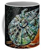 Millenium Falcon Coffee Mug by Paul Ward