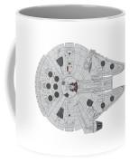 Millennium Falcon II Coffee Mug